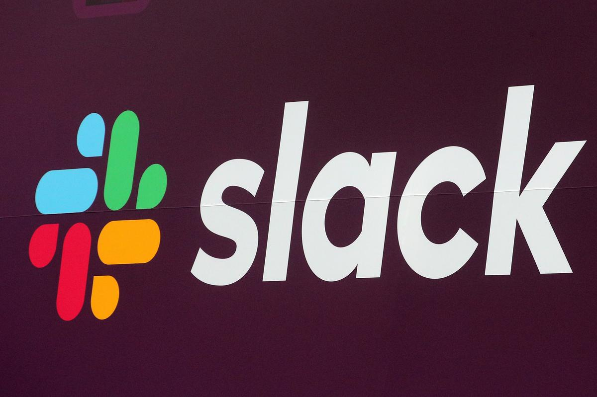 Slack shares recover from hammering after first results as public...