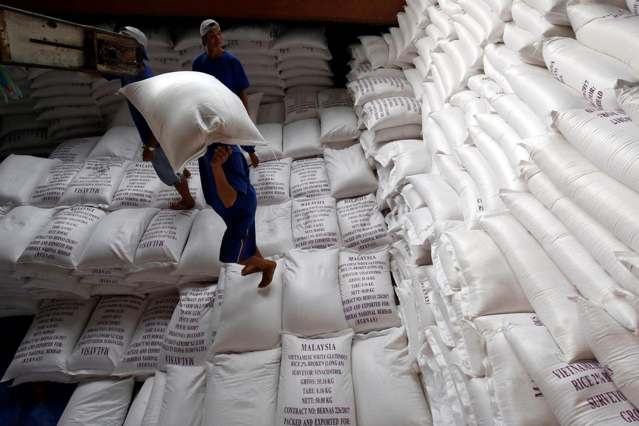 Ru Slide Drags Indian Rice Prices