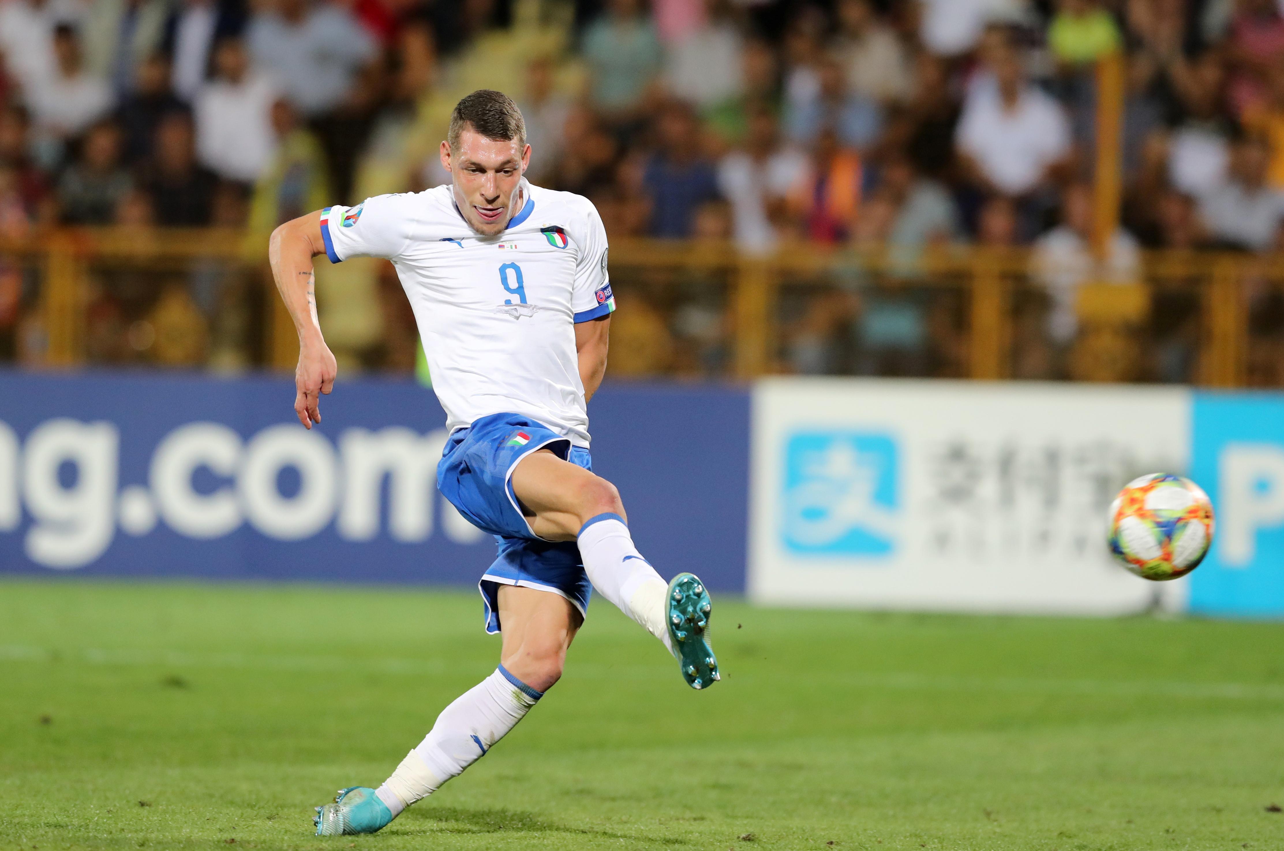 Belotti double as Italy hit back to beat 10-man Armenia