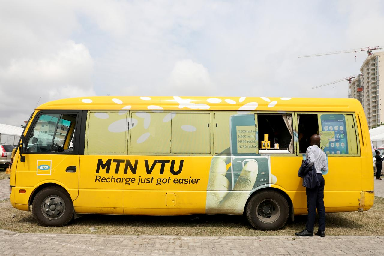 MTN Nigeria shares hit 3-month high after partial reopening