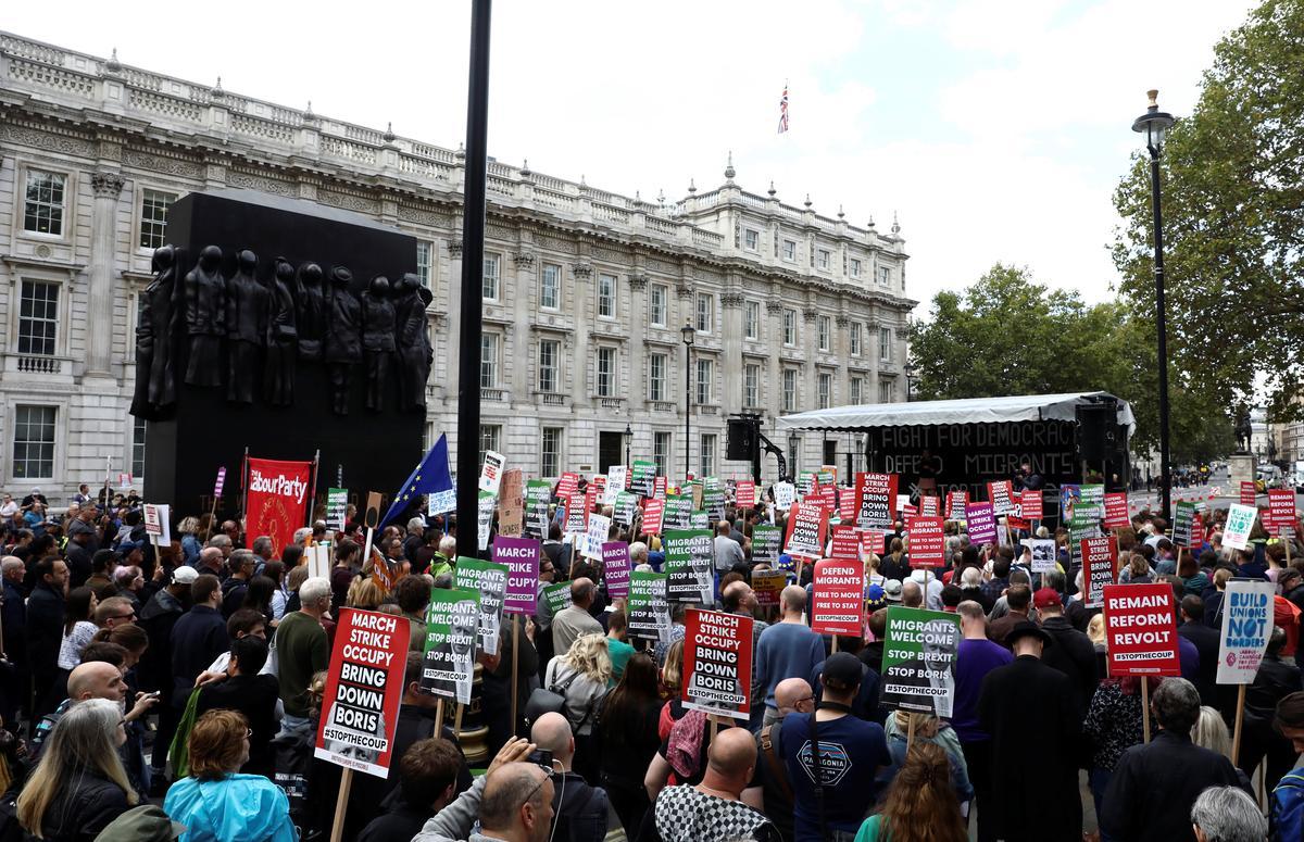Britse wetgewers berei regstappe voor om Brexit-vertraging af te dwing