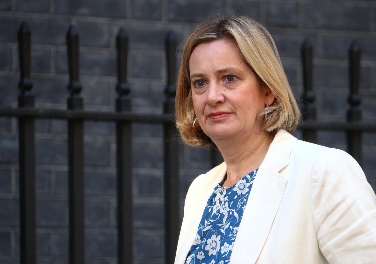 Amber Rudd, sekretaris van Britse werk en pensioene, verlaat die regering in protes teen Brexit
