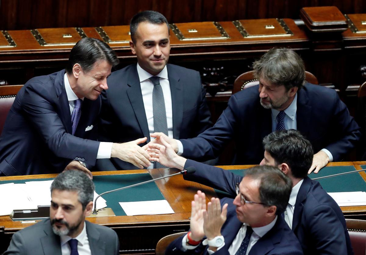 Die eerste minister van Italië hoop op EU-harmonie en ekonomiese herlewing