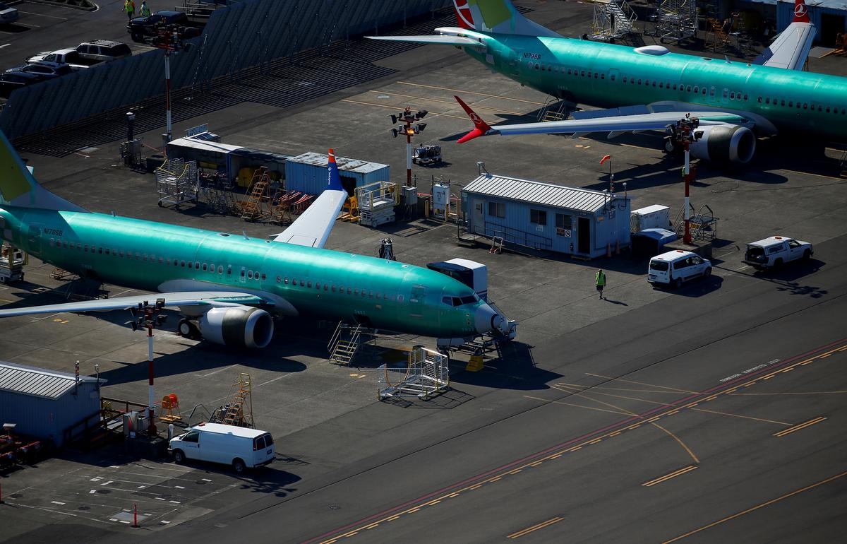 Boeing plane deliveries down 72% in August as MAX grounding weighs