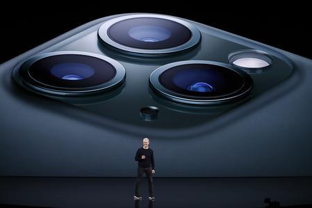 Apple reveals triple-camera iPhone, undercuts Disney streaming TV price