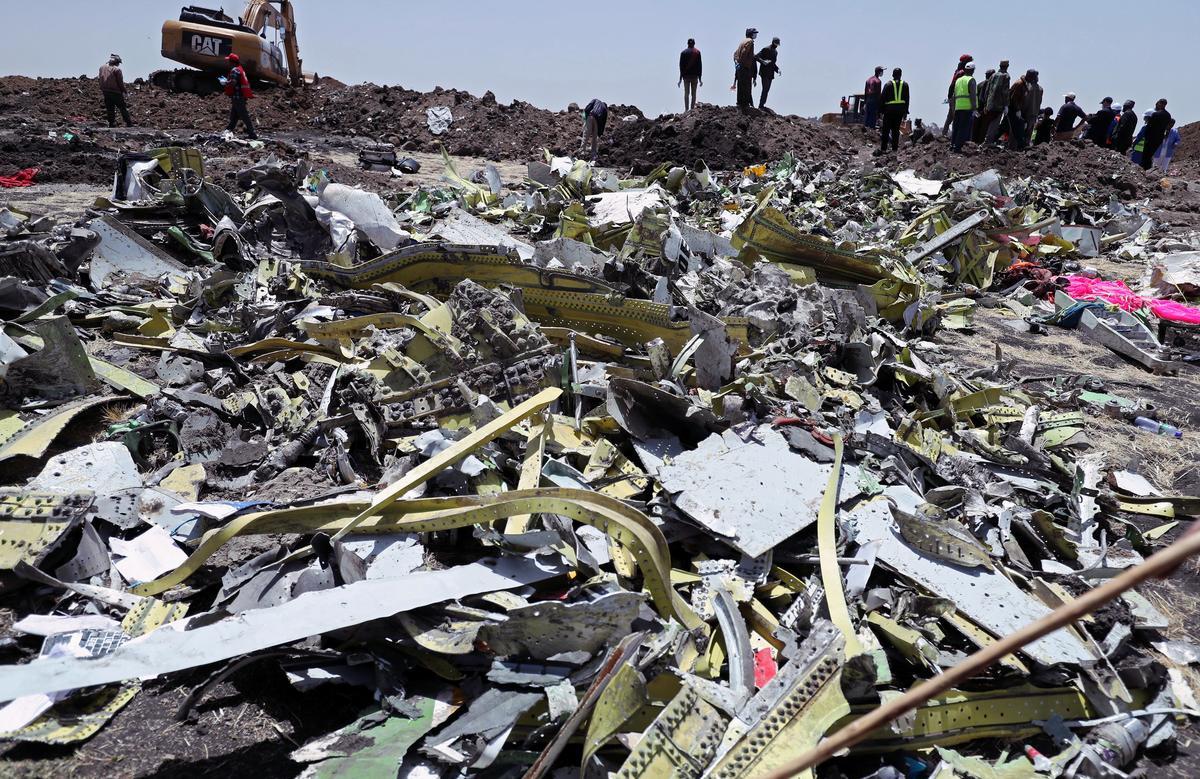 Gesinne vergader met die Amerikaanse vervoerhoof na 737 MAX-ongelukke