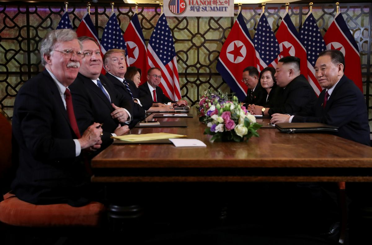 North Korea could warm up to talks after removal of 'war maniac' Bolton