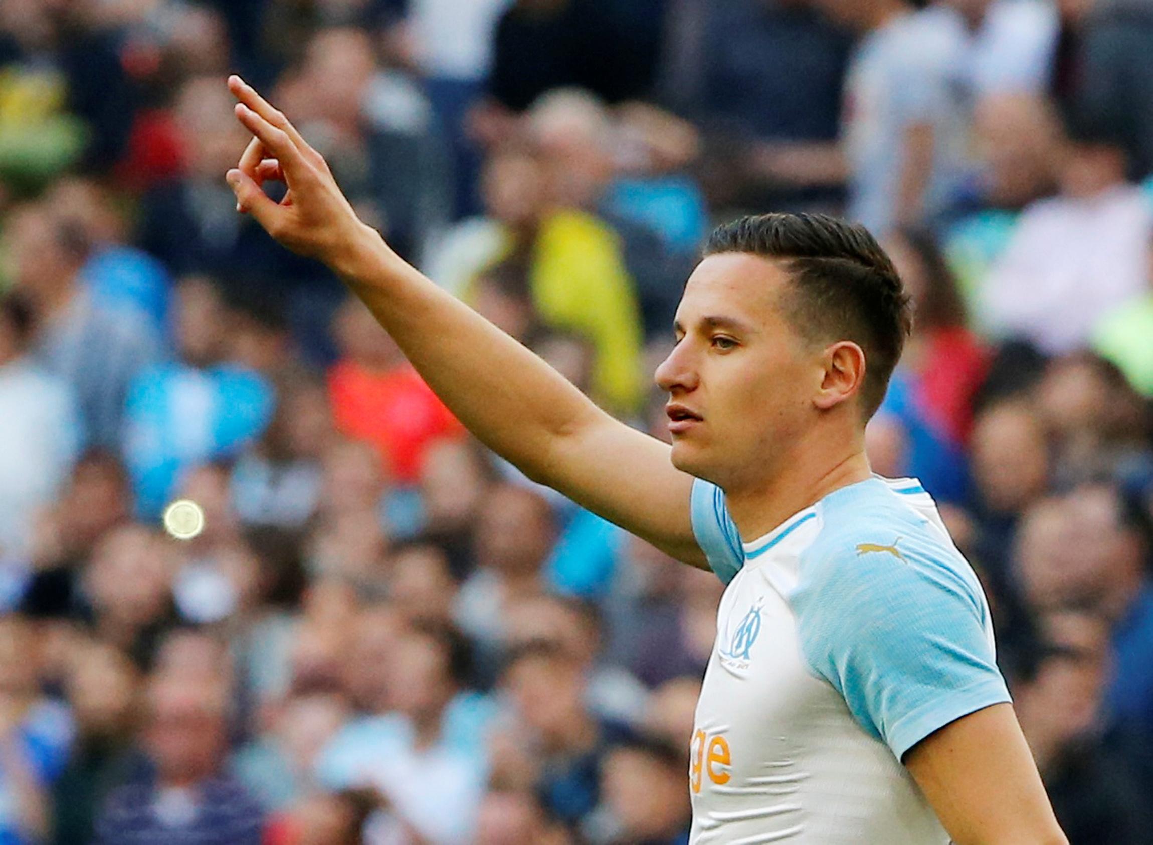 Marseille international midfielder Thauvin out until winter break - club