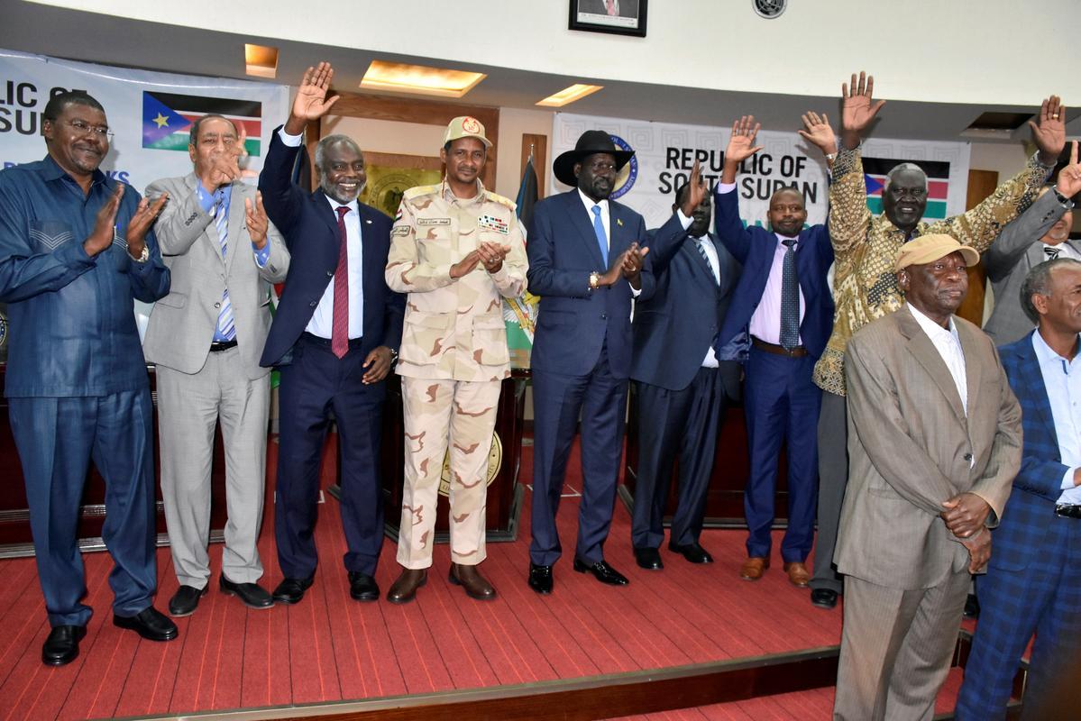 Soedan se regerende raad, rebelleleiers stem saam oor die padkaart vir vredesonderhandelinge