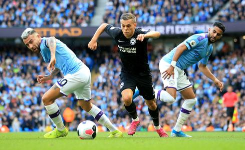 Brighton's Trossard out for a month with groin injury