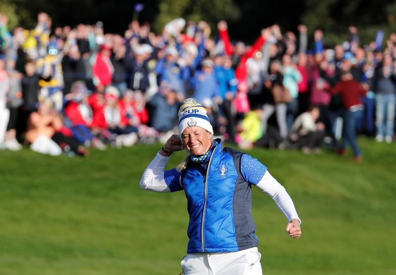 Pettersen the hero as Europe win Solheim Cup cliffhanger