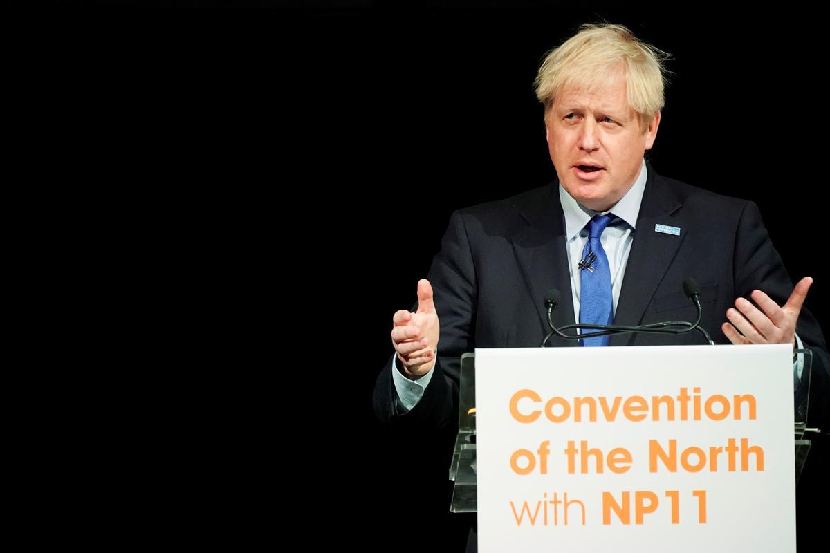 Britse premier Johnson: Vordering in die volgende paar dae is die sleutel tot die kanse van Brexit