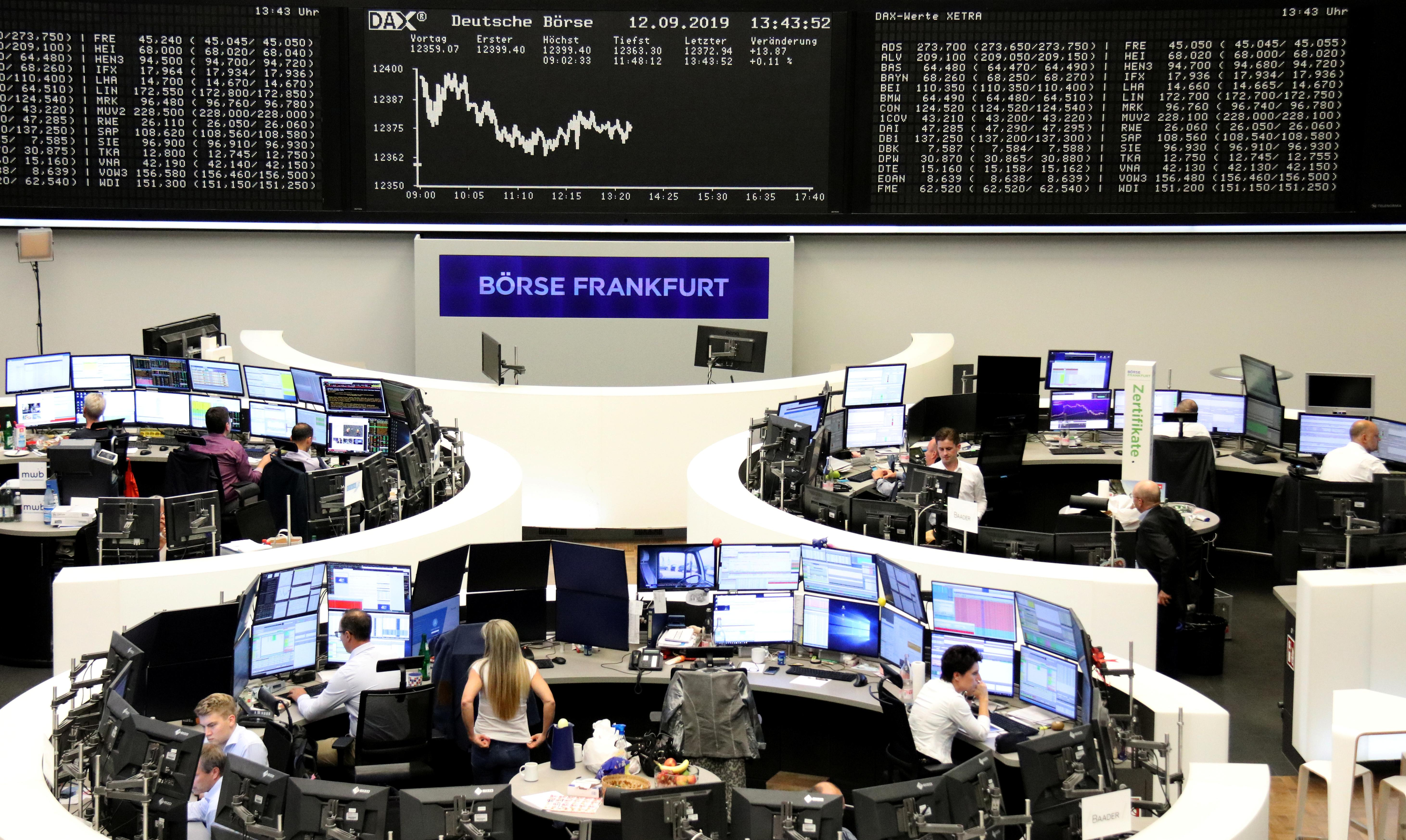 European stocks suffer from Saudi attacks, but oil firms soar