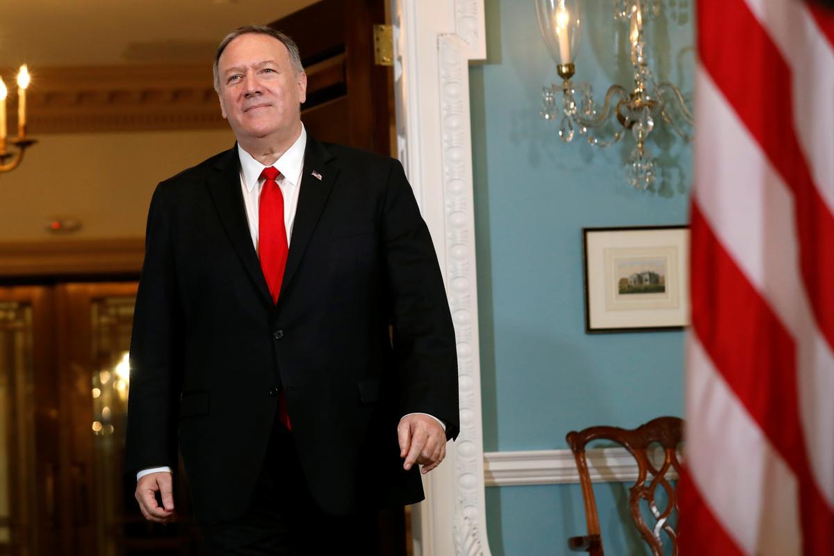 Pompeo het aan die Irakse premier gesê. Amerikaanse inligting bevestig dat Saoedi nie uit Irak aangeval is nie: verklaring van Bagdad