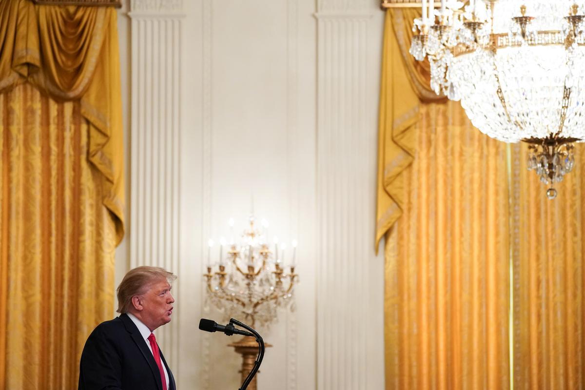 Trump weier om te sê as Kim hom genooi het, sê hy is nie gereed om Noord-Korea te besoek nie