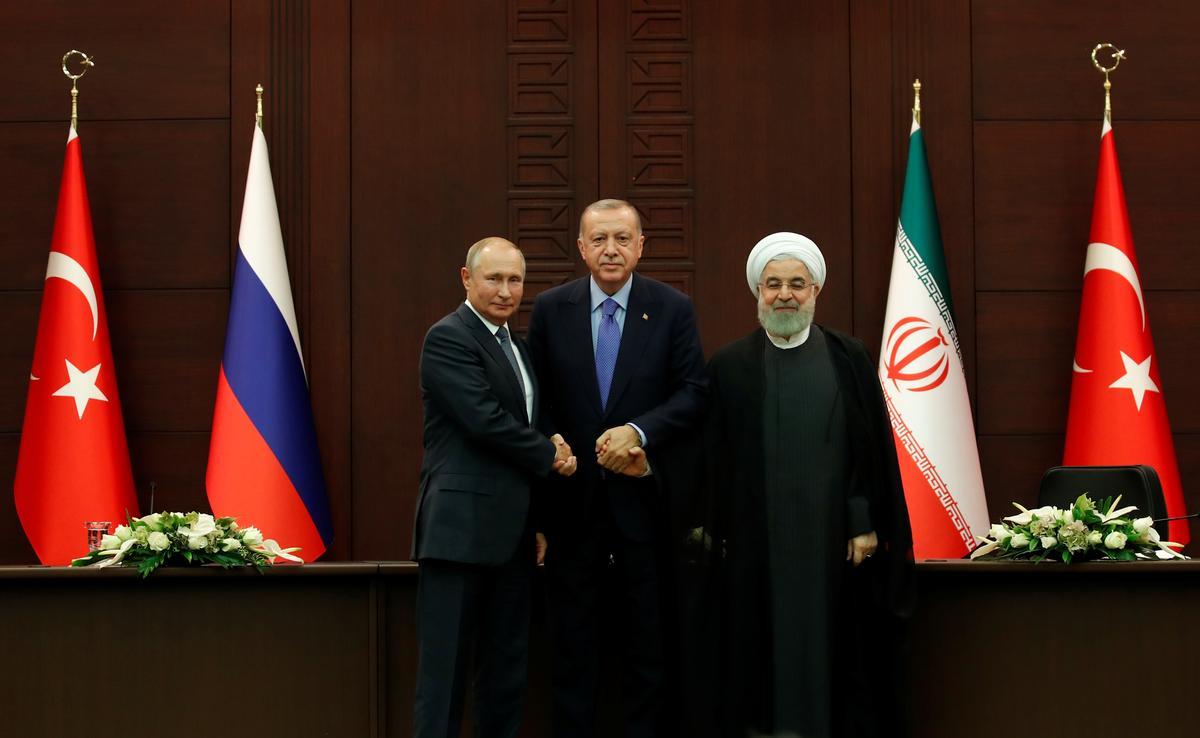 Turkye, Rusland, Iran stem saam oor stappe om die spanning in Sirië se Idlib te verlig ondanks die langdurige verskille