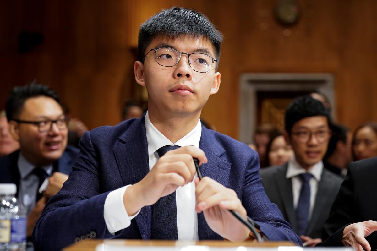 Aktiviste druk die Amerikaanse kongres om die wetsontwerp in Hong Kong deur te gee