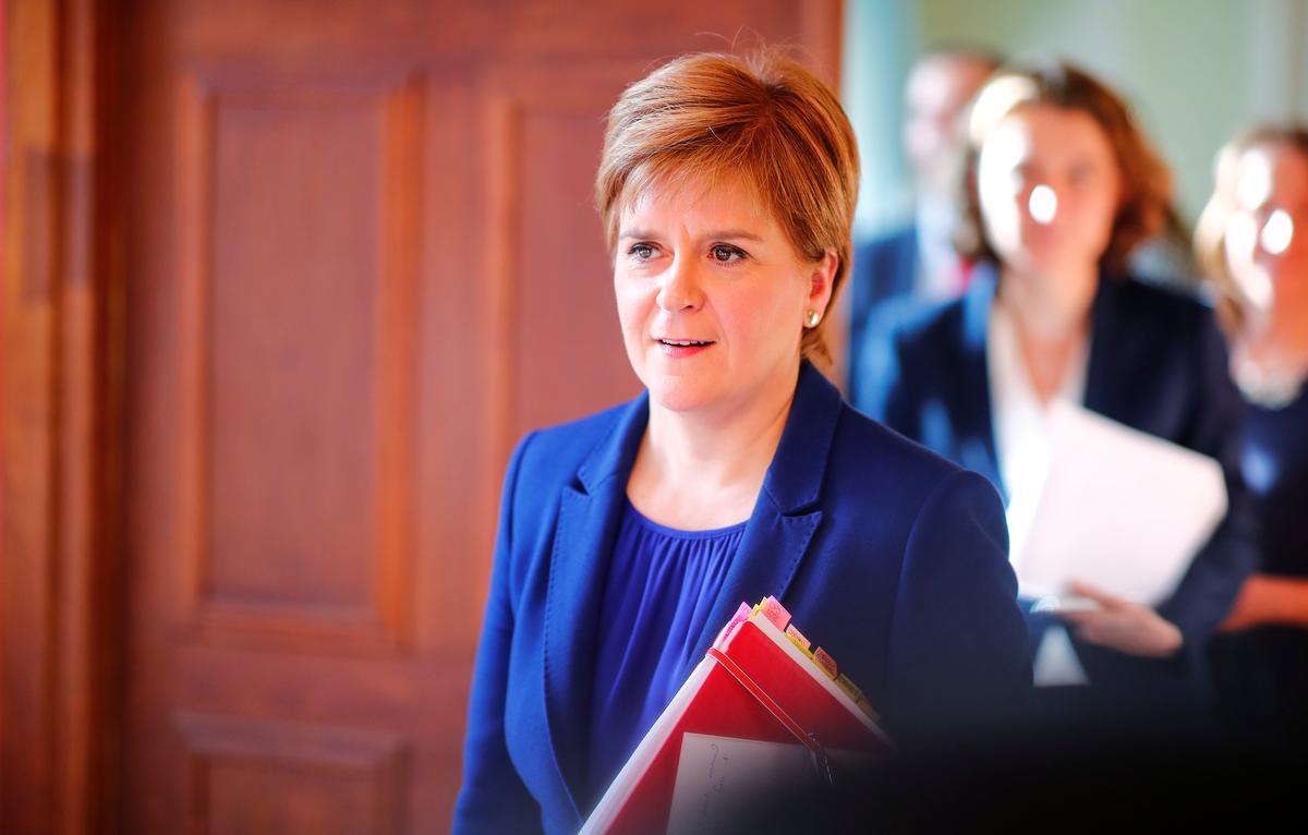 Brexit is nie 'n groot beduidende risiko nie: die Sturgeon van Skotland