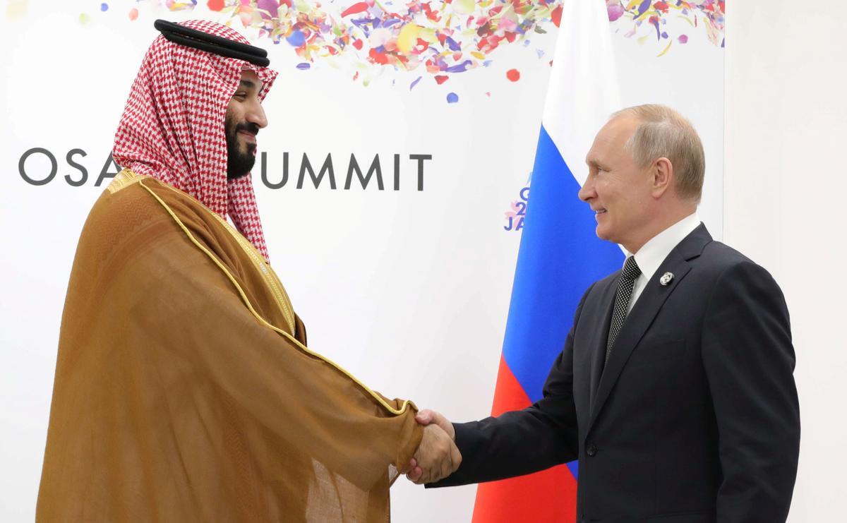 Rusland se Poetin, Saoedi-kroonprins bespreek aanvalle: Kremlin