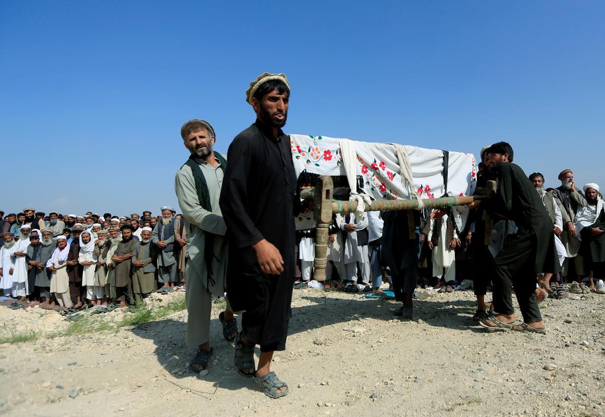 Amerikaanse drone-staking vermoor 30 pynboomboere in Afghanistan