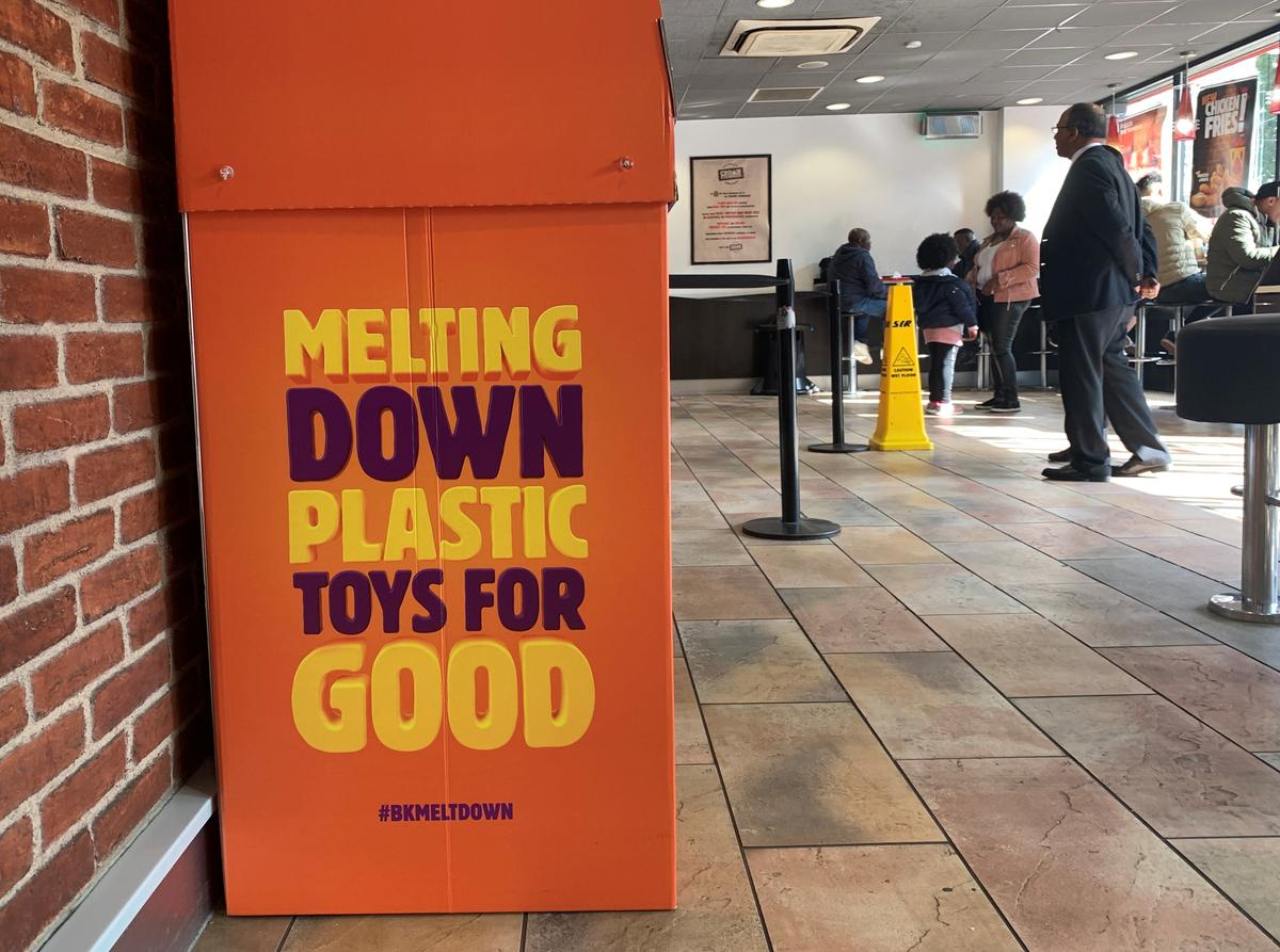 Burger King scraps plastic toys in children's meals, launches amnesty