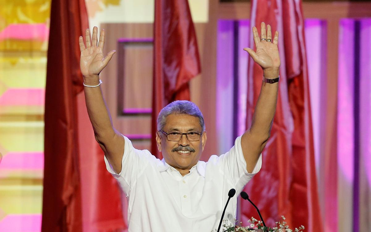 Rajapaksa, president van Sri Lanka, sal die verhouding met China herstel: adviseur