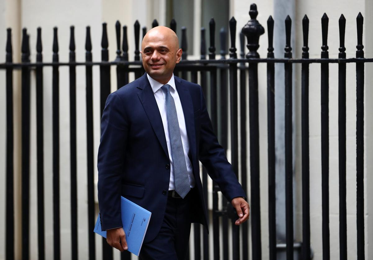 Die Britse Sajid Javid beplan die weggee-begroting vir Oktober: FT
