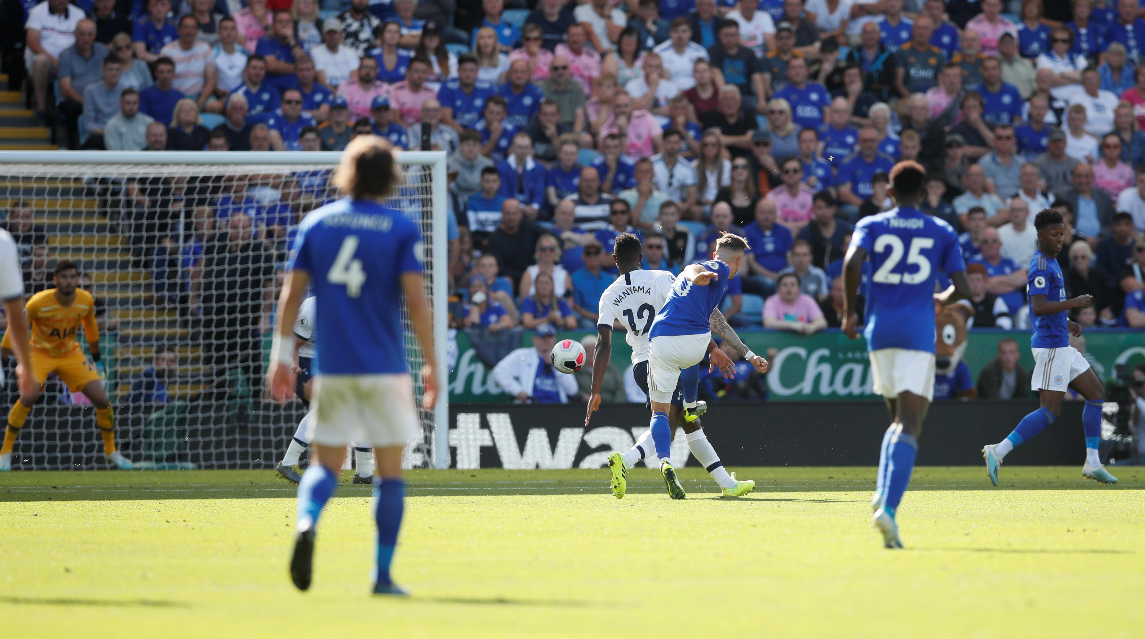 Maddison fires Leicester to win over Spurs amid VAR drama