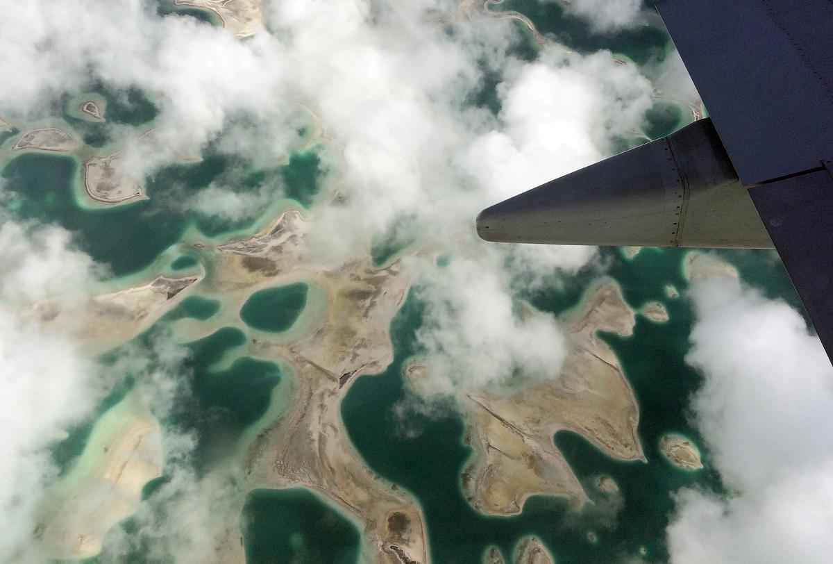 China sien binnekort Kiribati-bande, en daar is geen woord oor die ruimteopsporingstasie nie