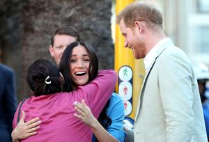 Harry and Meghan visit South Africa