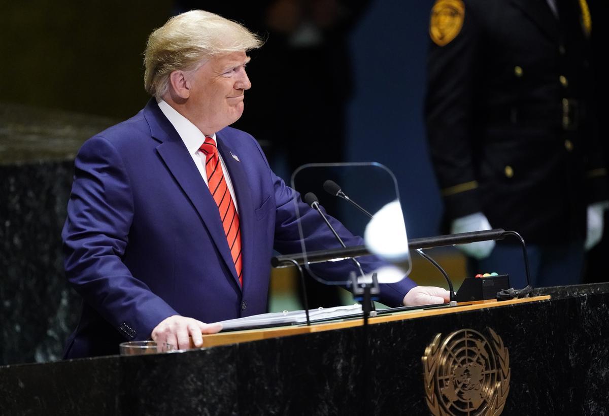 Trumps' China trade rhetoric turns harsh at U.N., says won't take 'bad deal'