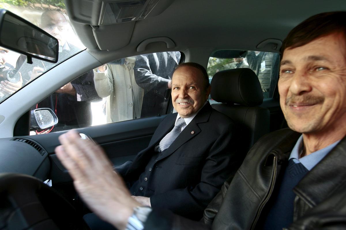 Algerië tronk topfigure uit die Bouteflika-era uit