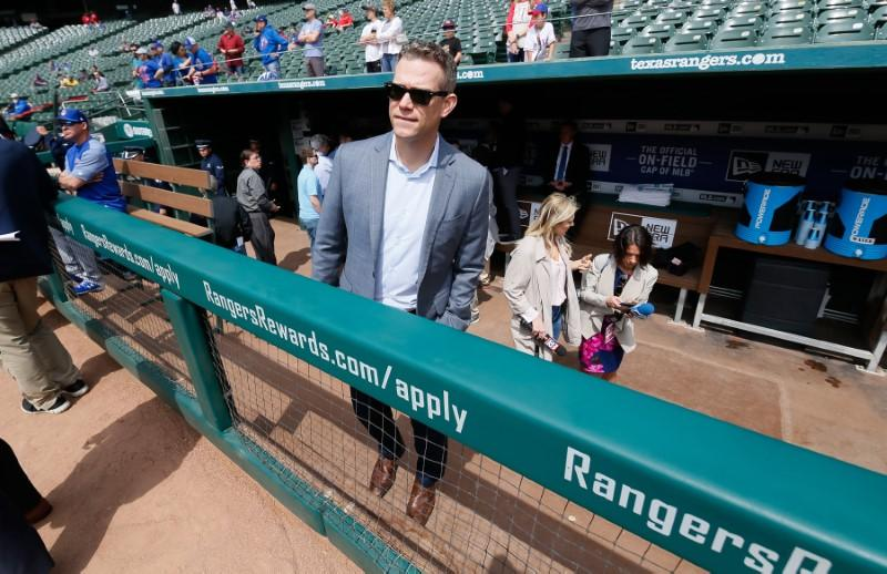 MLB notebook: Cubs' Epstein denies Red Sox rumors