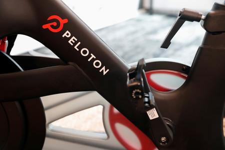 Fitness startup Peloton's shares fall 7% in market debut