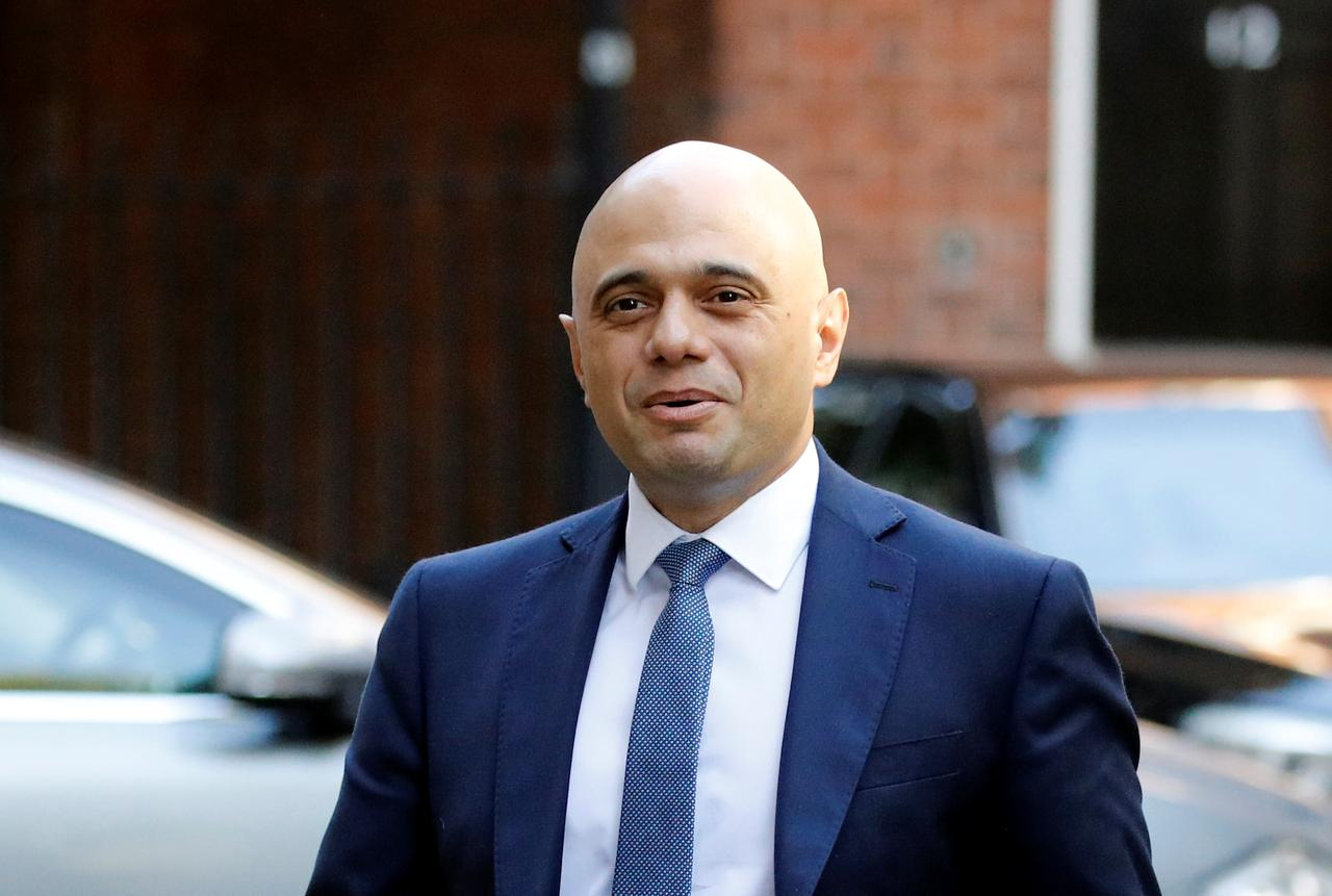 Image result for UK taking a careful look at the Brexit delay law - Javid says