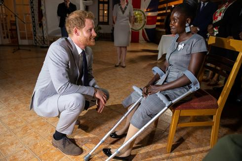 Prince Harry tours southern Africa