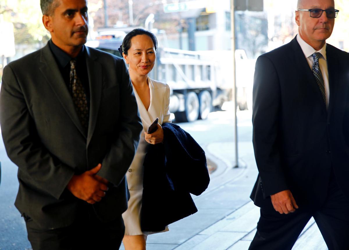 Advokate vir Huawei CFO gee besonderhede oor versoeke om te bewys dat haar regte geskend is