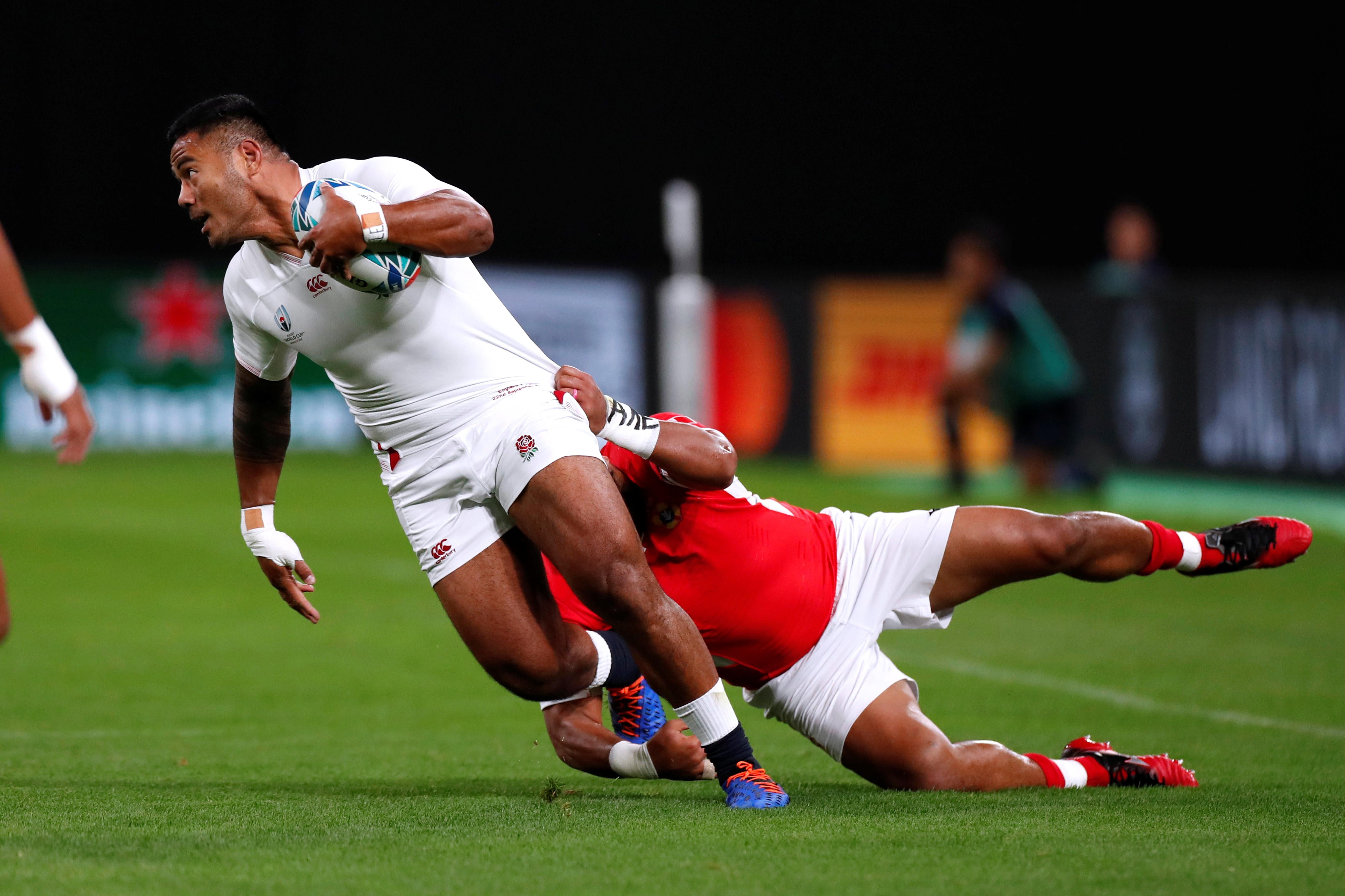 England's Tuilagi determined to enjoy World Cup while he can
