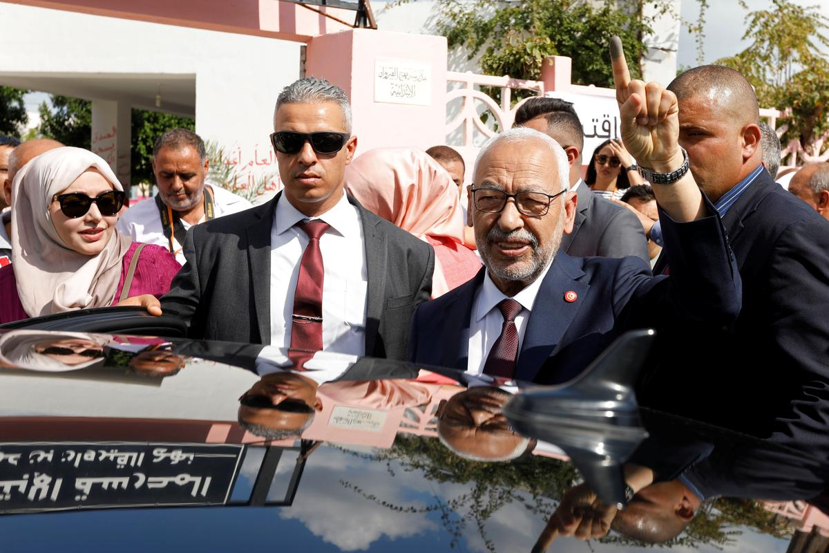Tunisiese Islamitiese party sê dat hy die parlementsverkiesing gewen het