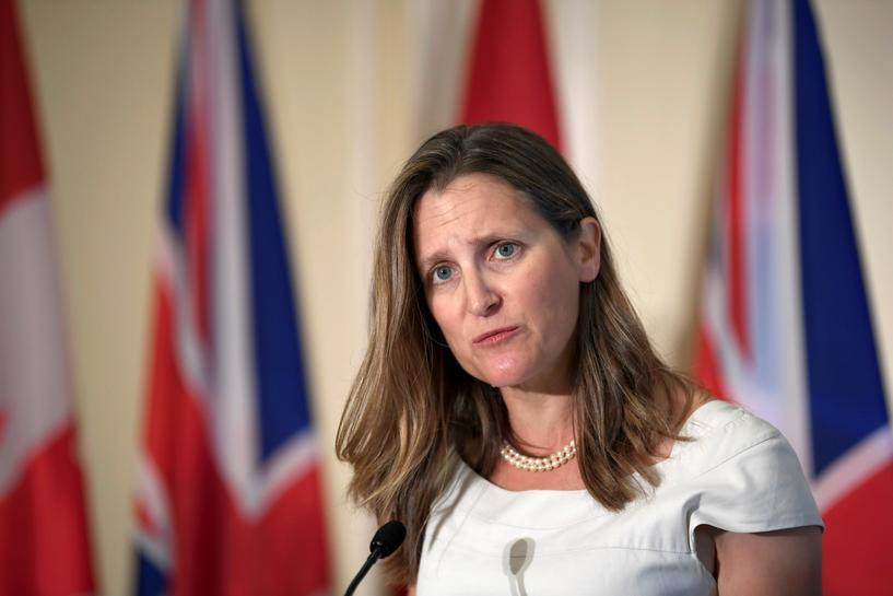 Canada condemns Turkey's military action against Kurdish forces