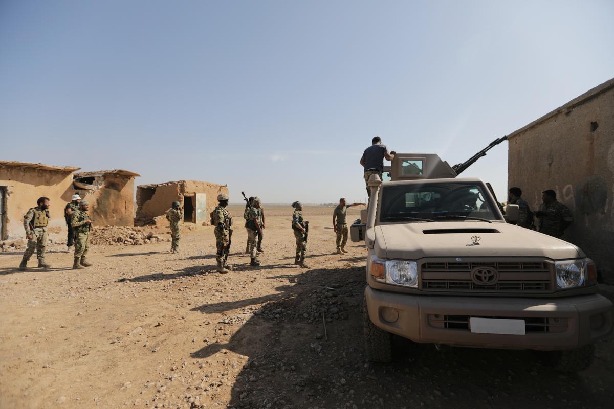SDF says Turkey-backed rebels killed Kurdish politician, rebels deny it