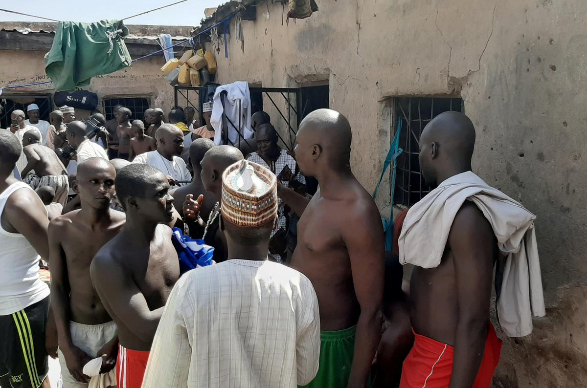 "Nigerian police rescue 67 from ""inhuman"" conditions at Islamic..."