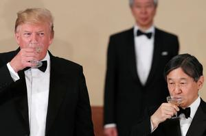 Japan's new emperor on the world stage