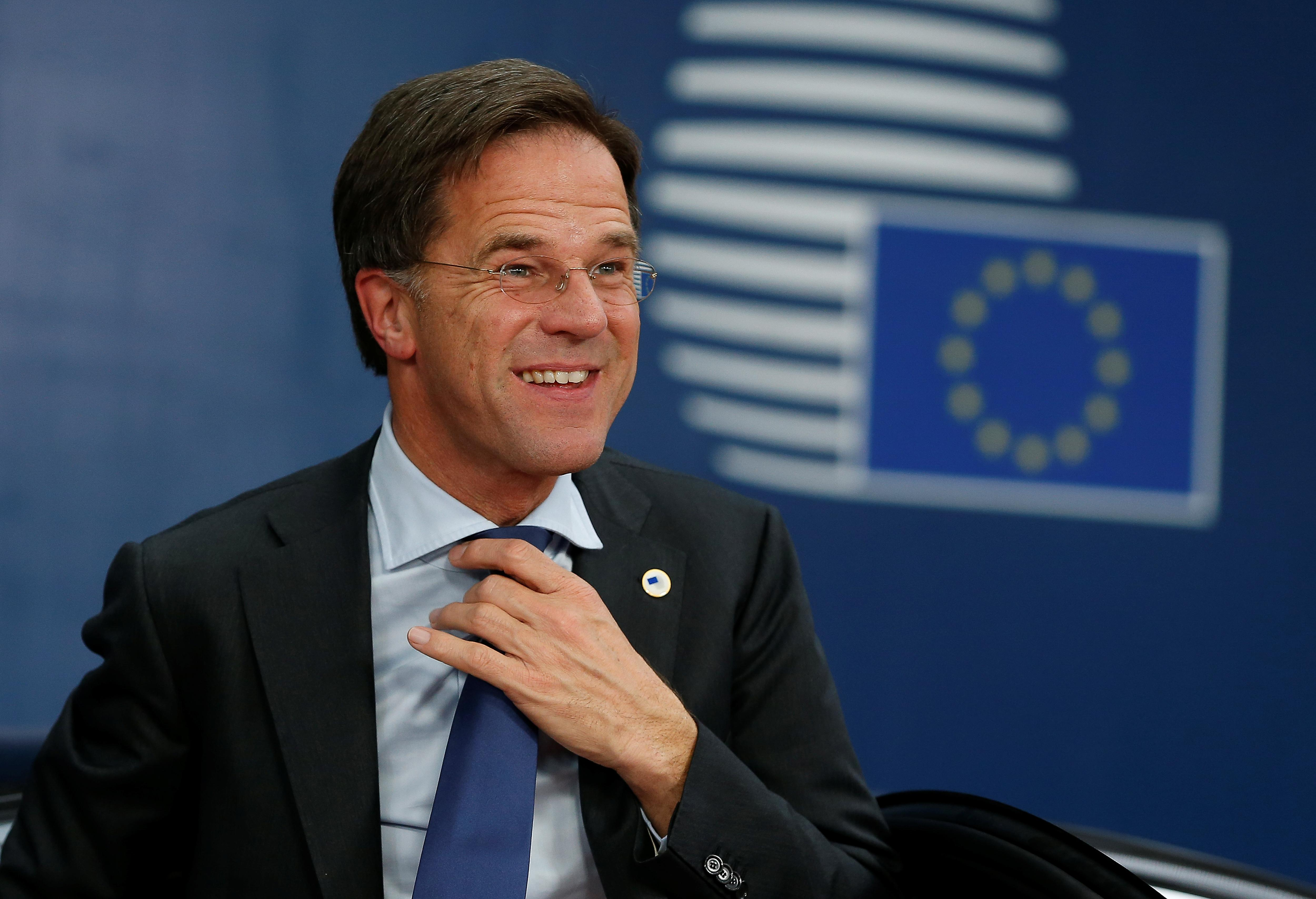 Dutch PM Rutte: spoke with UK's Johnson, wished him success in...