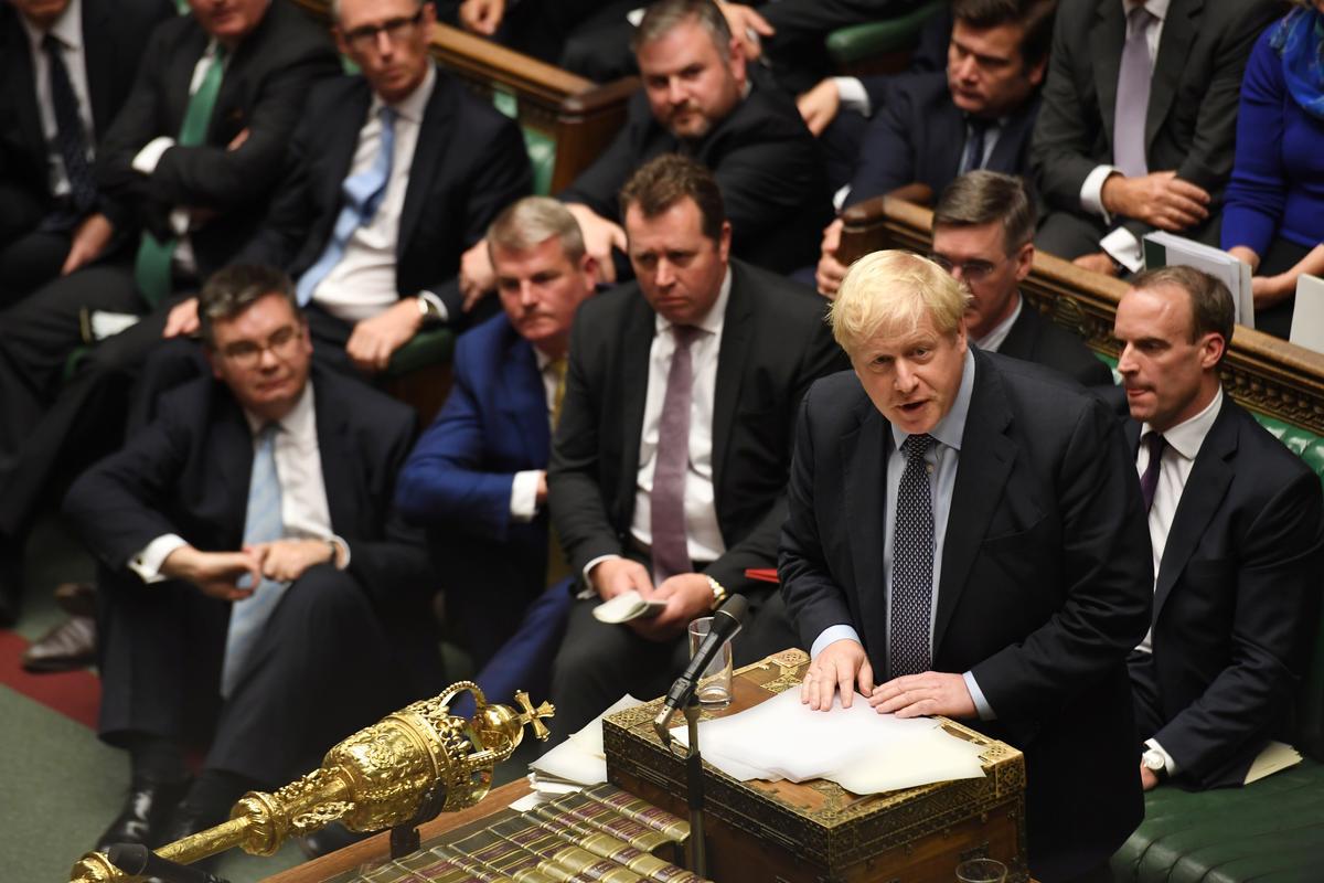 What happens next after UK PM Johnson writes Brexit delay letter?