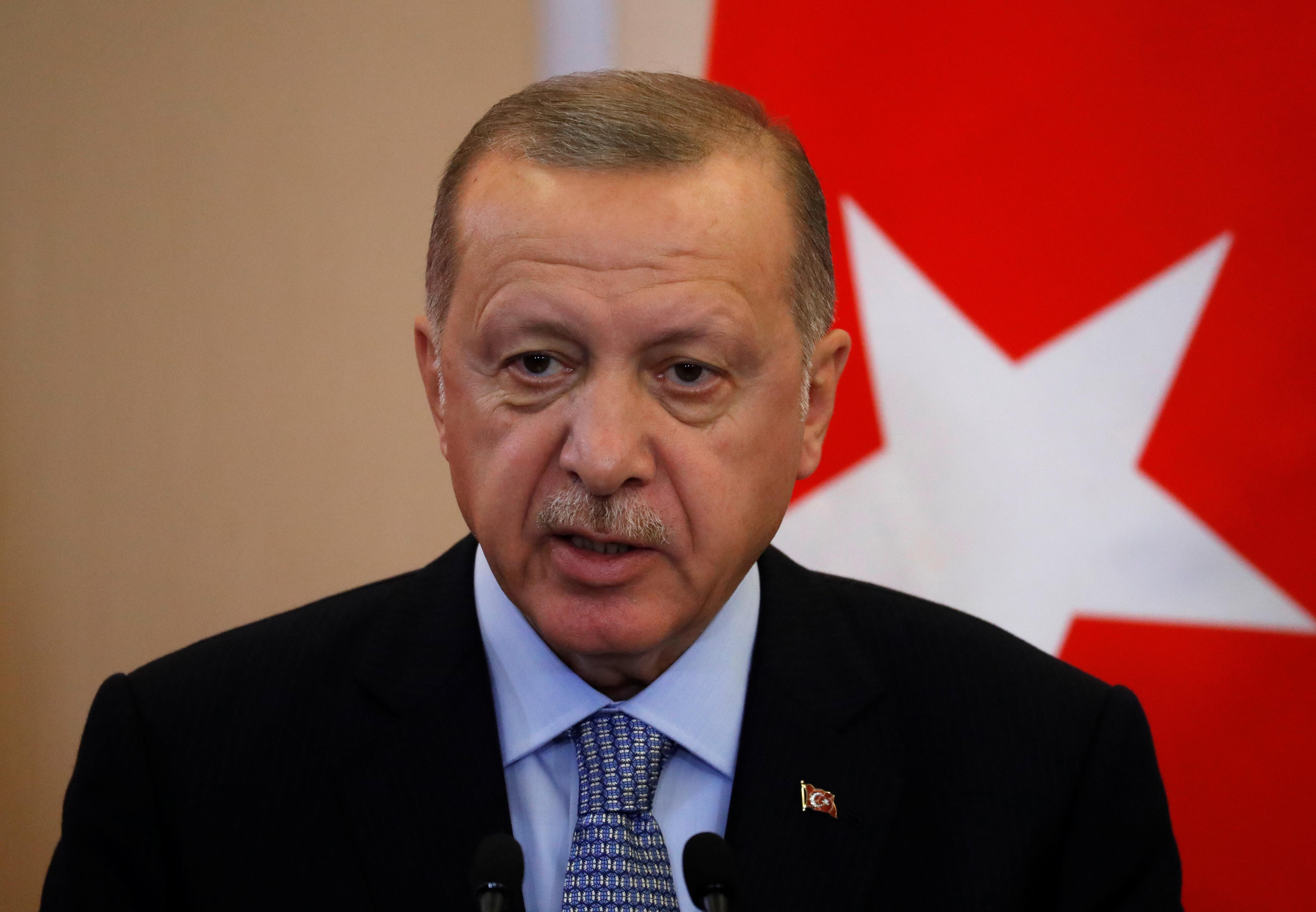 Erdogan, after sealing Russia deal, says U.S. has not kept promises...