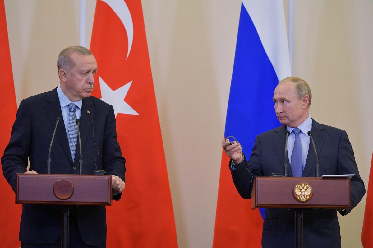 Russian police deploy in Syria's Kobani, Trump calls ceasefire 'permanent'