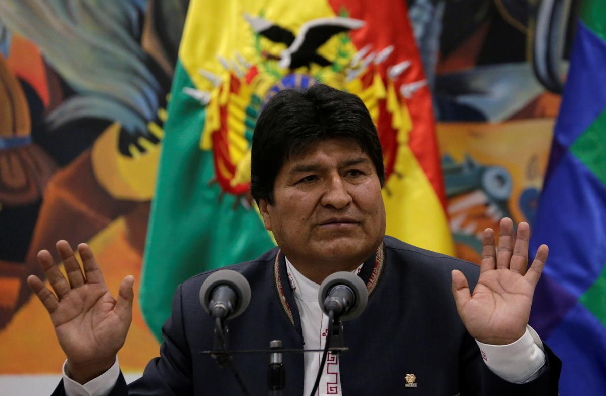 Bolivia's Morales chides OAS, defends disputed vote win