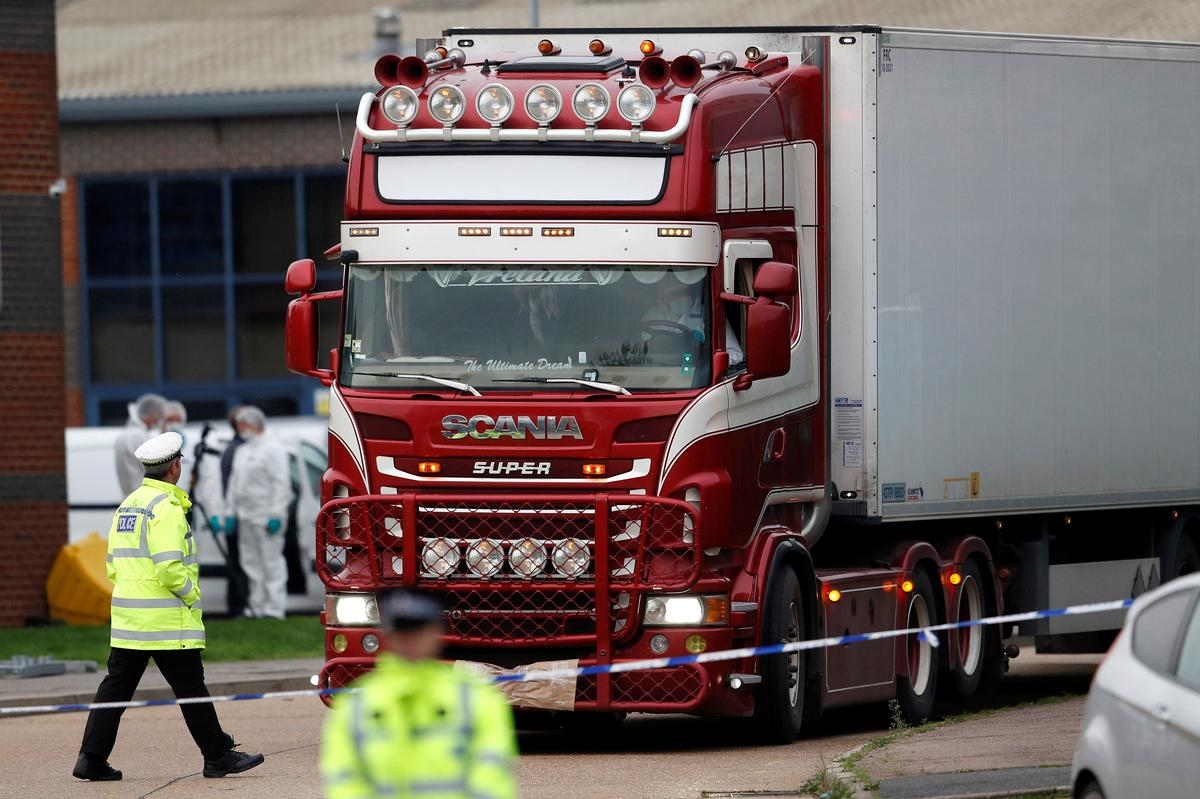 Irish firm leased trailer in which 39 bodies found: RTE