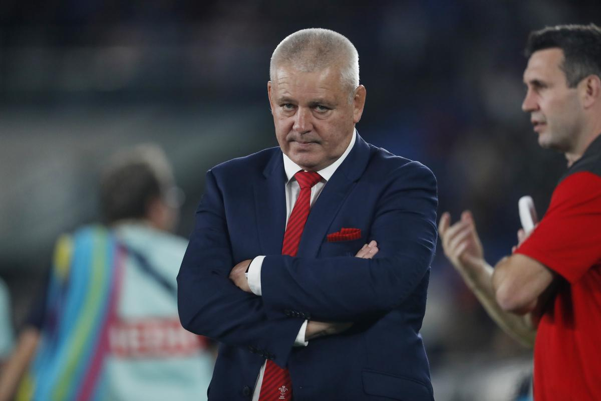 New Zealand boss rules out Gatland for All Blacks coach